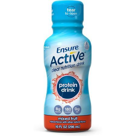 Is ensure healthy for you? Ensure active protein shakes have added sugars