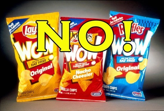 Olestra Chips do not help you lose weight