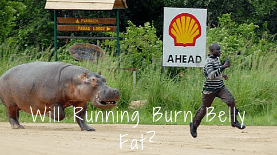 Will running burn belly fat