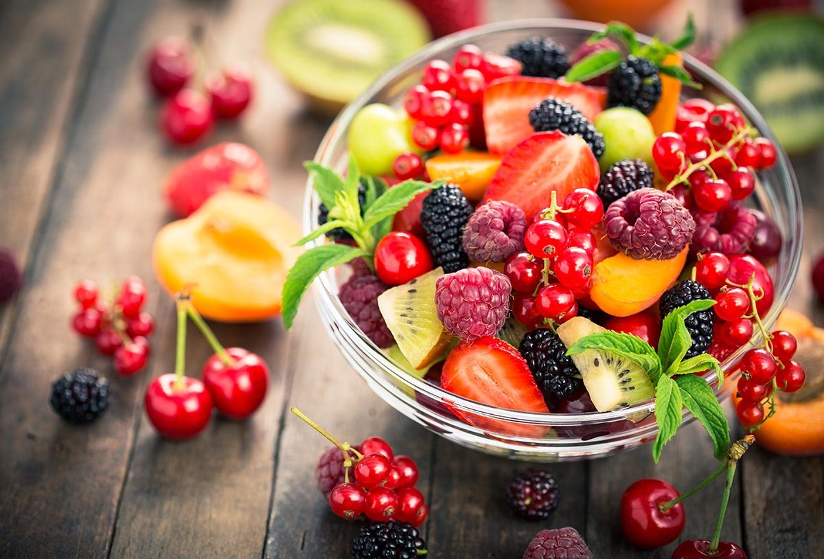 Eat fresh fruit to help with sugar addiction
