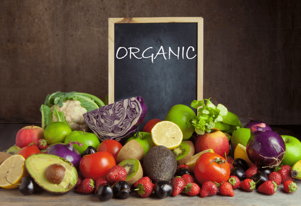 do you need to eat only organic foods on a plant based diet?