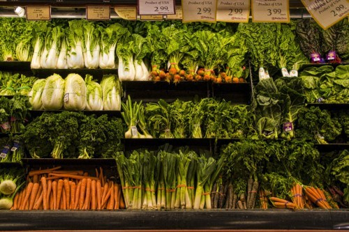 Fresh vegetables are great for your health