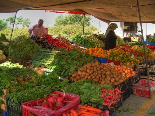 eat the rainbow vegetables and fruits